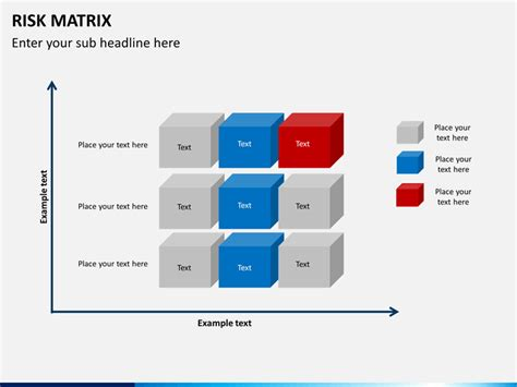 risk matrix powerpoint template sketchbubble