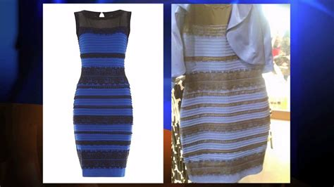 what color is the science weighs in on thedress photo showing