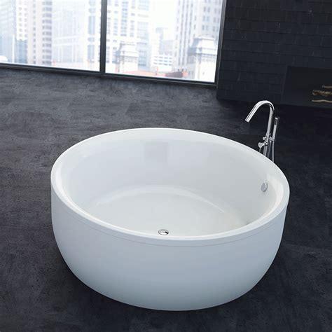 baignoire 160 cm baignoire design ronde copla blanche 216 160 cm comparer les