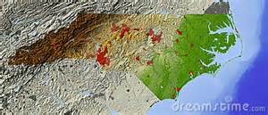 carolina relief map carolina relief map royalty free stock photo