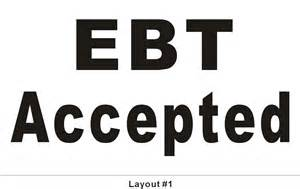 how can i accept ebt cards at my business 3ftx5ft ebt accepted banner we accept ebt cards sign