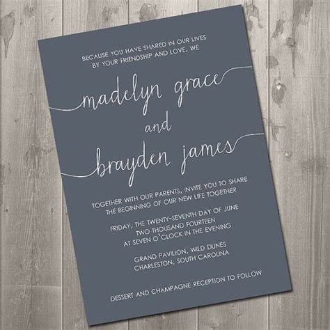 Wedding Announcement Order Of Names by The World S Catalog Of Ideas