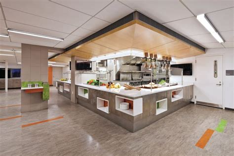 Cafeteria Kitchen Design an in focus look at friends seminary cafeteria