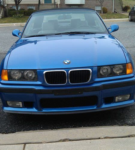 car owners manuals for sale 1999 bmw 3 series interior lighting sell used 1999 bmw m3 convertible e36 manual transmission bone stock fully loaded in