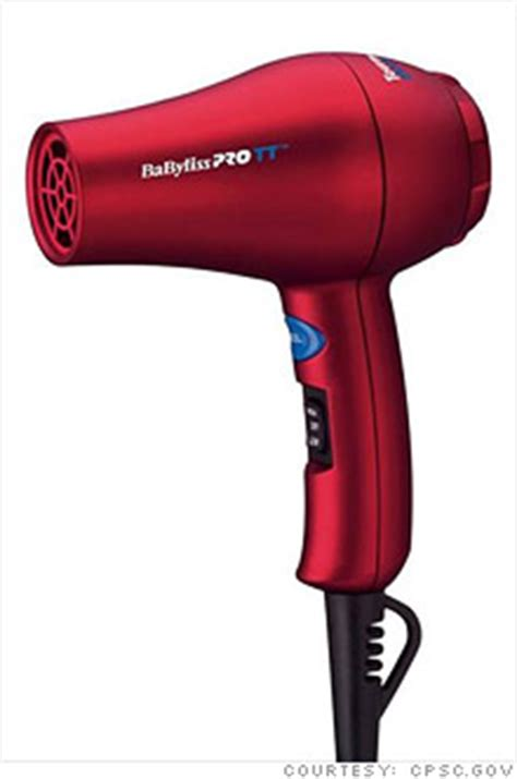 Hair Dryer Reviews Consumer Reports conair recalls 291 000 babylisspro hair dryers may 7 2010