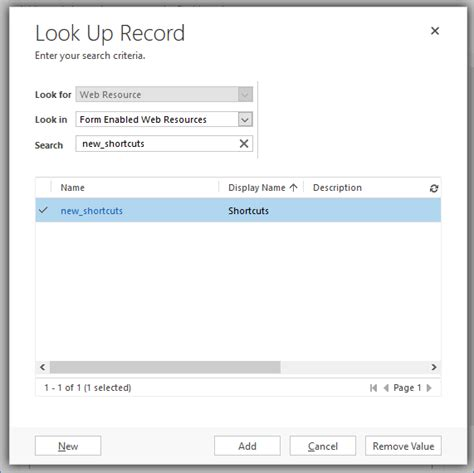How Do You Look Up Records Make Your Own Custom Shortcuts On A Crm Dashboard In