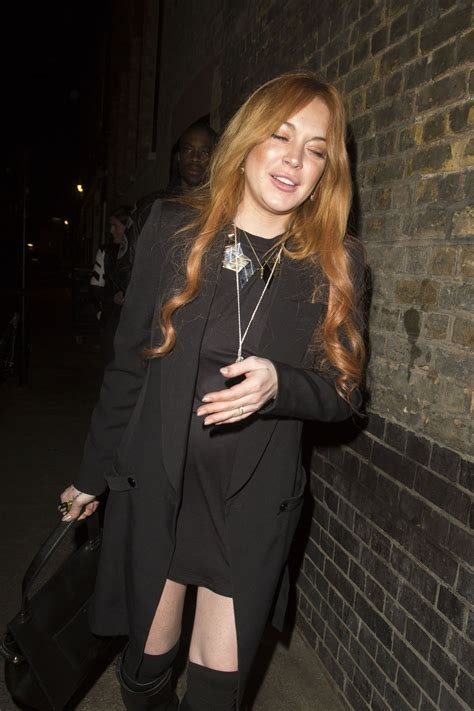 Lindsay Lohan Out by Lindsay Lohan Out Style Chiltern Firehouse