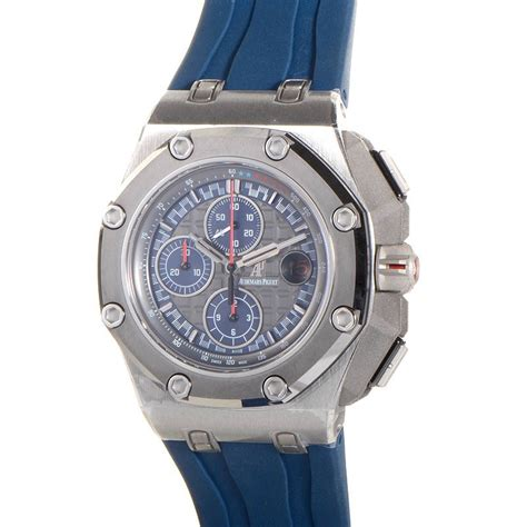 Ap Schumacher Blue Rubber Swiss Eta 1 1 audemars piguet royal oak offshore chronograph michael schumacher 26568pm oo a021ca 01 luxury
