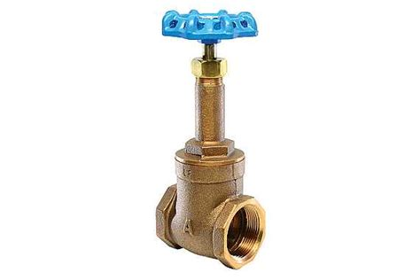 Mass Plumbing Approval by 4fg Lead Free Brass Industrial Gate Valve