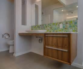 bathroom backsplash ideas midcentury with ada vanity aluminum tags height