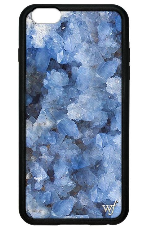 crystal blue iphone  pluss  case wildflower cases