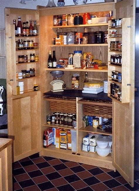 Standing Pantry by Build A Freestanding Pantry Diy Projects For Everyone