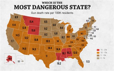 what is the most dangerous see where utah ranks in most dangerous states for gun violence fox13now