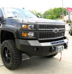 iron cross 20 515 16 winch front bumper chevy silverado