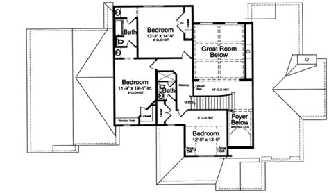 stately home plan 39171st 1st floor master suite