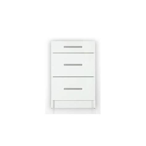 meuble bas cuisine 80 cm meuble bas de cuisine 3 tiroirs 80 cm tara laqu 233 brillant