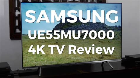 Tv Samsung 55inc 55mu7000 samsung ue55mu7000 4k hdr lcd tv review