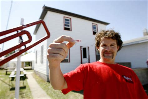 man trades paperclip for house my red paperclip story from 8 65 an hour to retired at