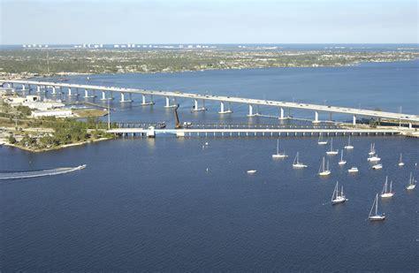 roosevelt bascule bridge in stuart fl united states - Boat Slips For Rent Stuart Fl