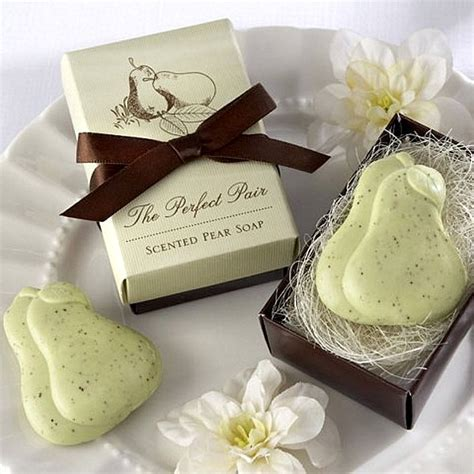 Perfect Pair Pear Shaped Scented Soap Favors