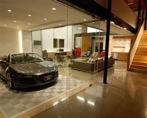 car in living room smart trendy decoration ideas for home garage