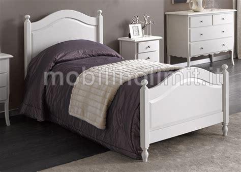 strutture letto singolo letto singolo classico bianco opaco