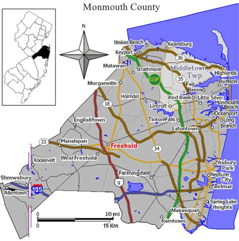 map of monmouth county new jersey file map monmouth county nj towns gif wikimedia commons