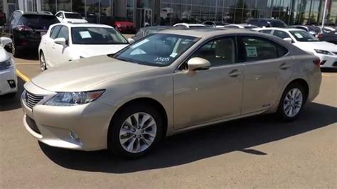 Gold On Parchment 2014 Lexus Es 300h Hybrid