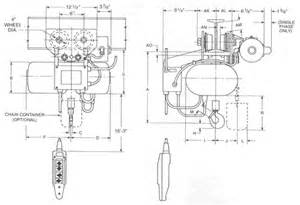 yale hoist wiring diagrams yale free engine image for user manual