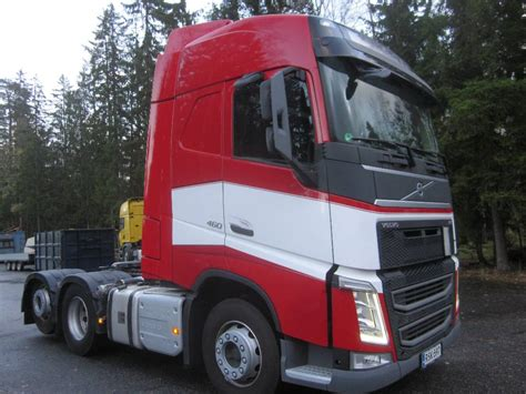 used volvo tractor used volvo fh 4 volvo fh4 460 6x2 tractor units year 2014