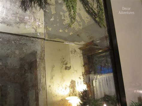 how to glass how to antique mirror using paint and