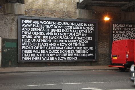 the artist vandalising advertising with poetry the