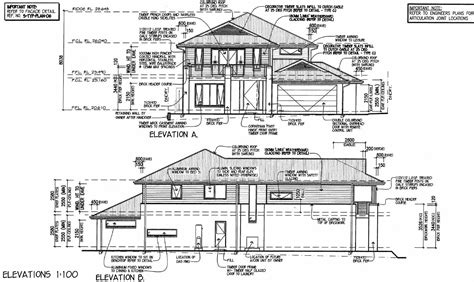 side view house plans side view house plans home deco plans