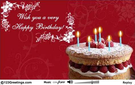 Simple Happy Birthday Wishes Sms Birthday Card Happy Birthday Wishes Cards Simple Animated