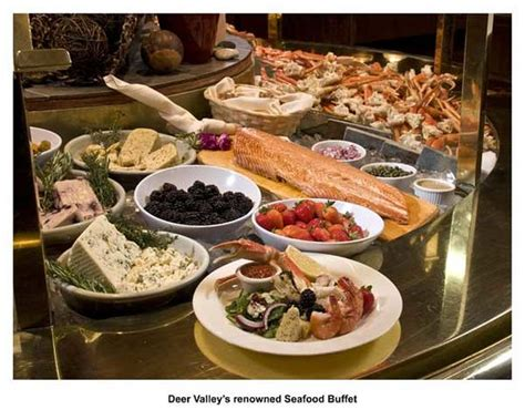 deer valley seafood buffet park city menu prices