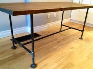 Diy Pipe Desk Diy Pipe Wood Table Pt 2 Storefront