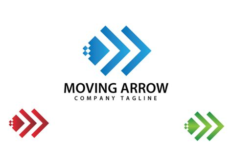 logo templates moving arrow logo template by kazierfan wrapbootstrap