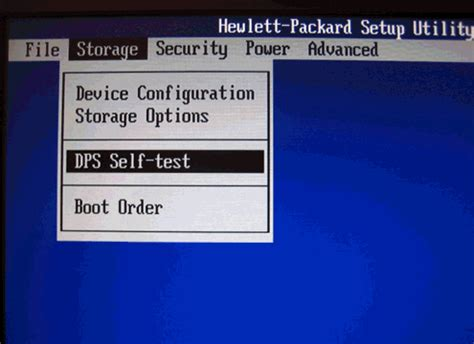 self testo hp desktop pcs testing for hardware failures windows 7