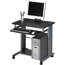 Small Desktop Computer Stands New Home Office Pc Computer Desk Workstation Rolling Stand