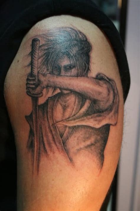 samurai sword tattoo 43 samurai sword tattoos with meanings