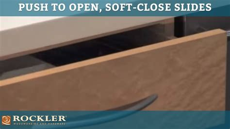 soft close drawers too hard to open king slide push to open soft close drawer slides
