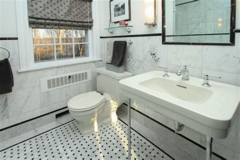 21  Black and White Marble Tiles Bathroom Designs, Ideas