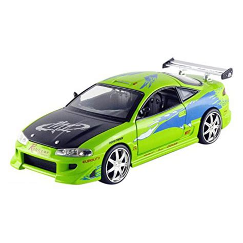 Fast And Furious Supra Kit by Fast And Furious Model Brian S Mitsubishi Eclipse Green 1