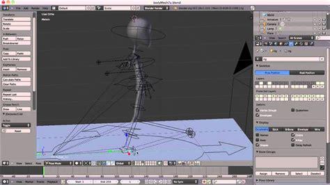 tutorial rigify blender beginners blender 3d tutorial 27 animating a walk cycle