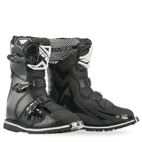 fly motocross boots maverik atv dualsport black boot fly racing motocross