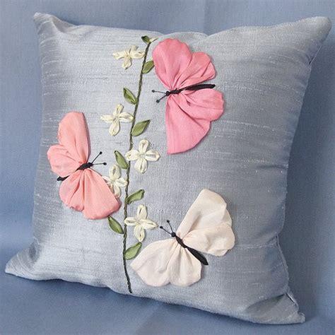 como hacer bordados con flores de liston el rinc 243 n de las manualidades de siry cojines bordados