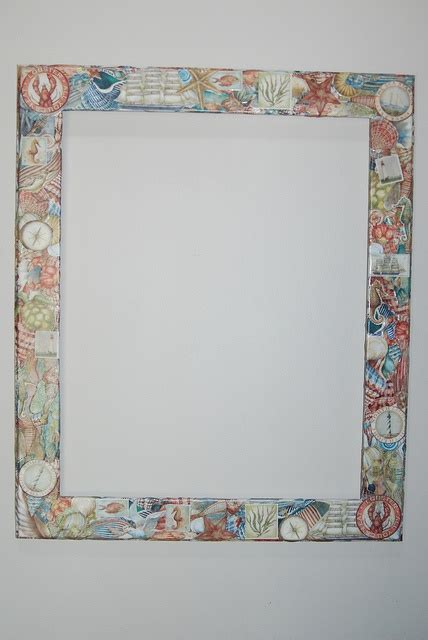 decoupage frame decoupage frame decorations crafts