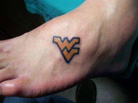 west virginia tattoos designs wvu on left shoulder blade the day after wedding