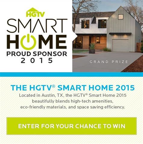 17 best images about hgtv 174 smart home 2015 on