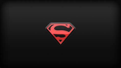 superman wallpaper for mac superman red logoymbol 4k full uhd desktop wallpaper hd
